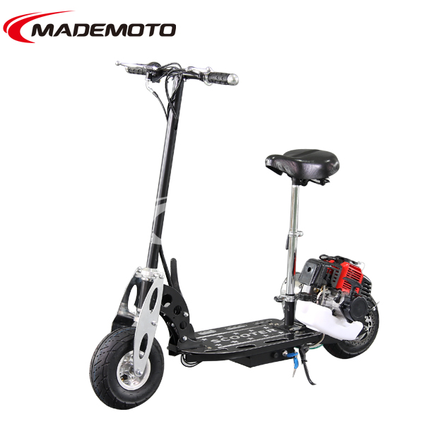 gas scooter with pedals,2 wheel 49cc gas scooter,adult gas scooter GS4902